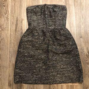 Gap strapless winter dress
